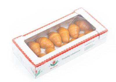 Rogaliki drożdżowe z nadzieniem jagodowym 50 %