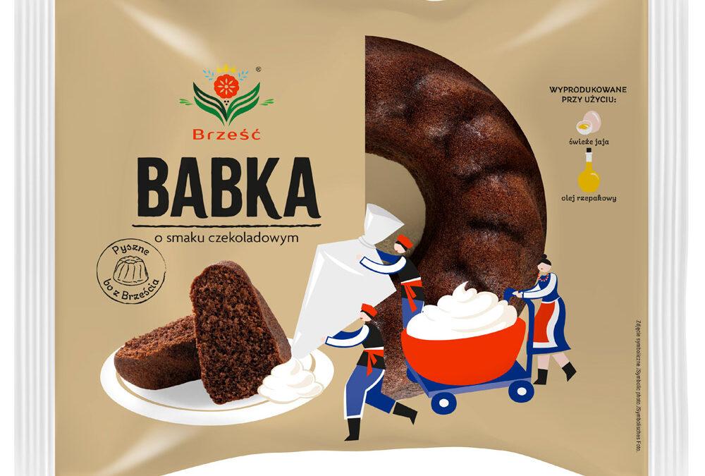Babka o smaku czekoladowym (okrągła) 300 g